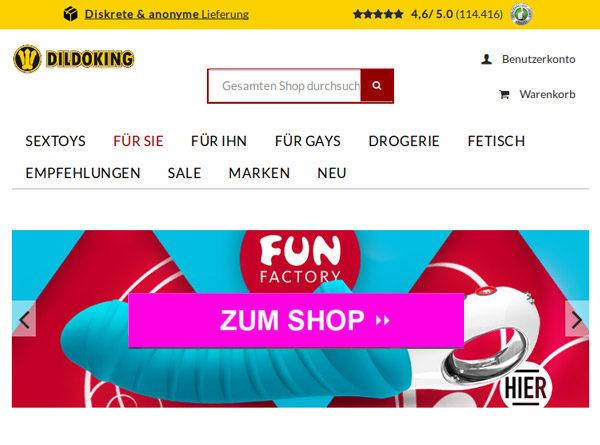 Dildoking.de – Online Shop