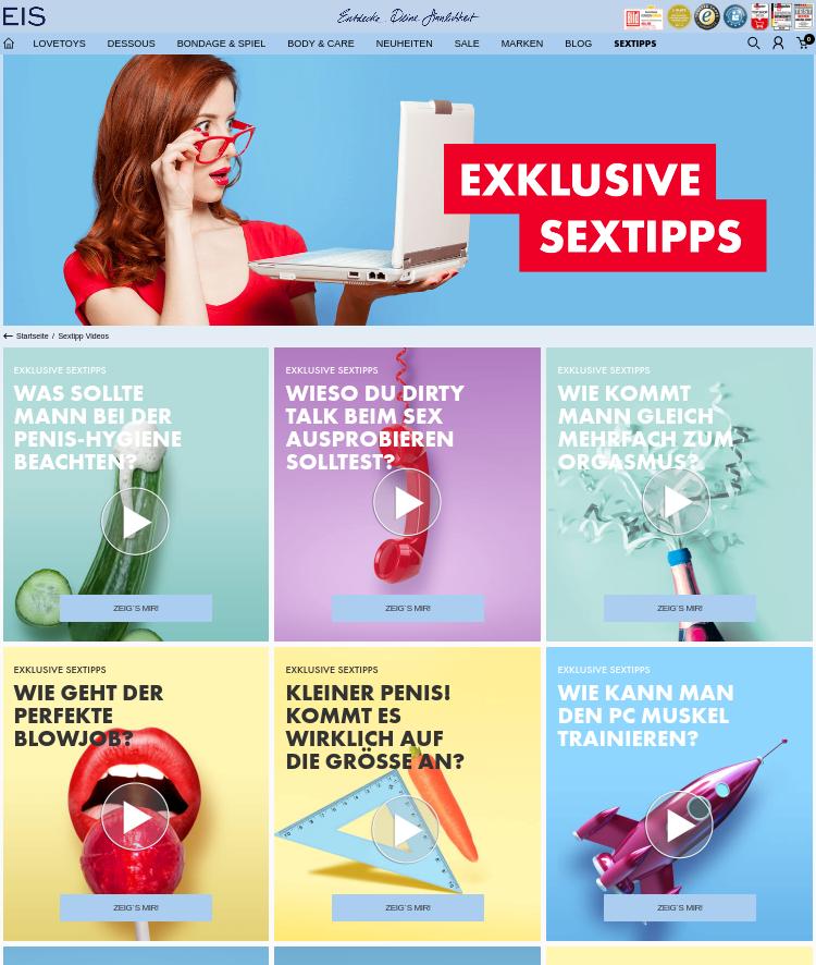 Sextipps von Eis.de