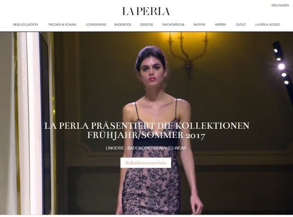 LaPerla.com – der Online Shop