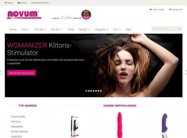 Novum.TV – Online Shop