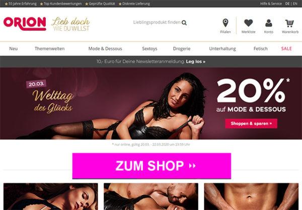 Orion.de – Online Shop