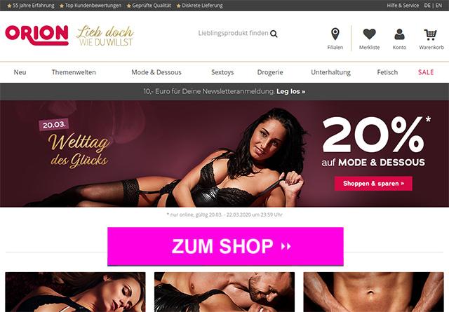 Orion.de Online Shop