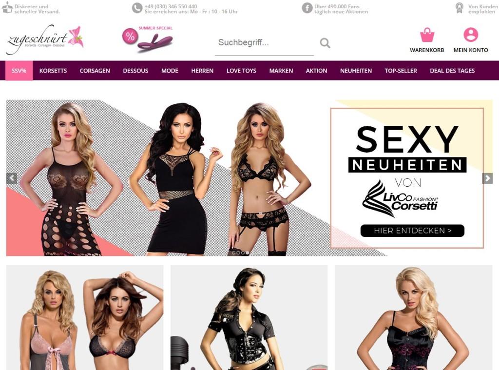 Zugeschnuert-shop.de Online Shop